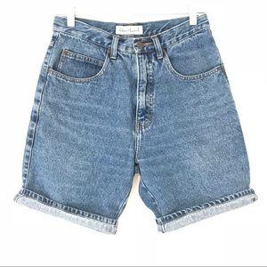 VTG 80s 90s High Waist Mom Jean Shorts Sz 6/8